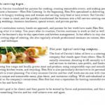 Company Biography, Bleu Bite Catering (Bend, Oregon)