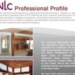 Trifold Brochure (excerpt), VLC General Contracting